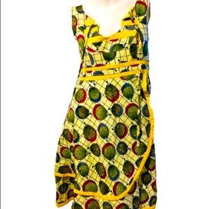 Handmade S--M  African Dress